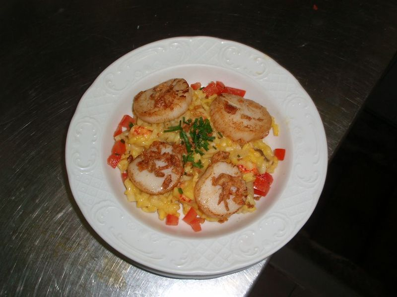 St jacques risotto